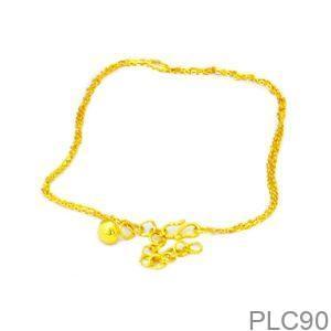 Lắc Chân Trẻ Em Vàng Vàng 18k - PLC90