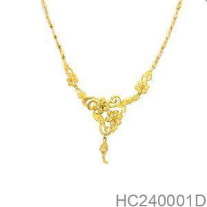 Dây Chuyền Cưới Vàng 24k - HC240001D