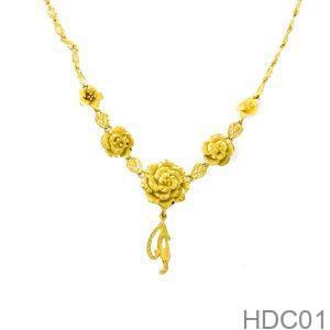 Dây Chuyền Cưới Vàng 24k - HDC01