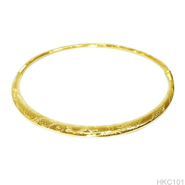HKC101-1 Kiềng cổ cưới vàng 24k APJ đẹp rẻ