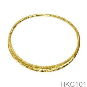 Kiềng Cưới Vàng 24k - HKC101