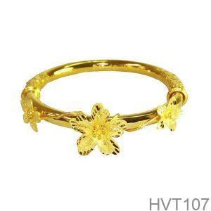 Vòng Tay Cưới Vàng 24k - HVT107
