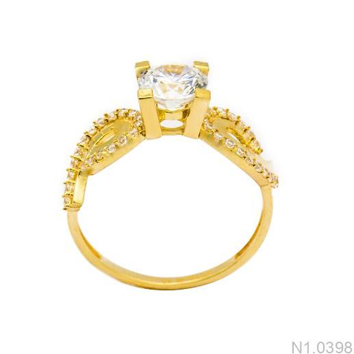 Nhẫn Kiểu Nữ APJ Vàng 18k - N1.0398
