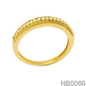 Nhẫn Kiểu Nữ Vàng 18k - NB0066