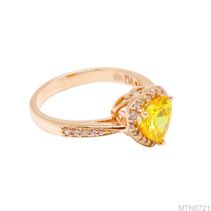 Nhẫn Kiểu Nữ APJ Vàng 18k - MTN0721