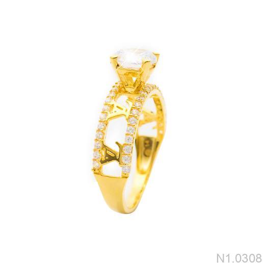 Nhẫn Kiểu Nữ APJ Vàng 18k - N1.0308