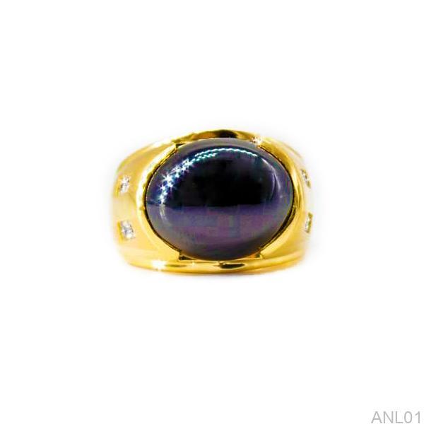 Nhẫn Kiểu Nam APJ Vàng 18k - ANL01