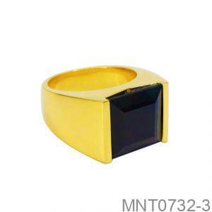 Nhẫn Nam Vàng 18K Đính Đá CZ - MTN0732-3