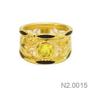 Nhẫn Kiểu Nam APJ Vàng 18k - N2.0015