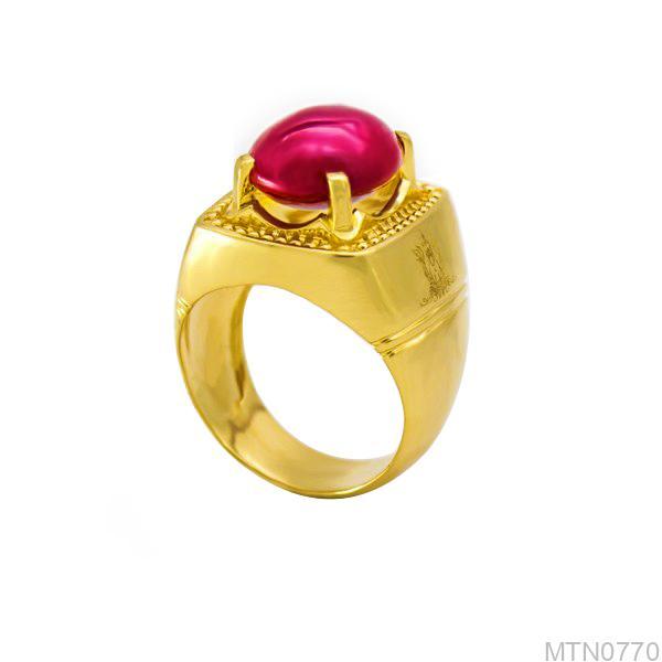 Nhẫn Nam Vàng 18K - MTN0770