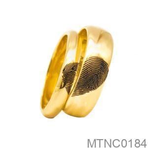 Nhẫn Cưới Vàng 18k - MTNC0184