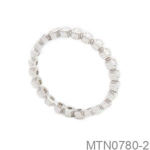Nhẫn Kiểu Nữ APJ Vàng Trắng 10k - MTN0780-2
