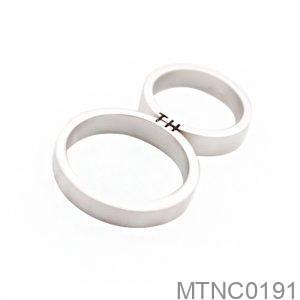 Nhẫn Cưới Vàng Trắng 10k - MTNC0191