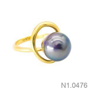 Nhẫn Nữ Ngọc Trai Vàng 18k - N1.0476
