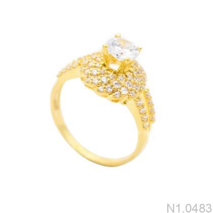 Nhẫn Kiểu Nữ Vàng 18k - N1.0483