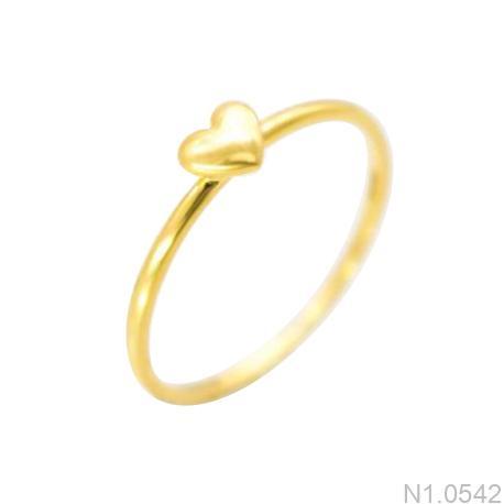 Nhẫn Kiểu Nữ Vàng 18k - N1.0542