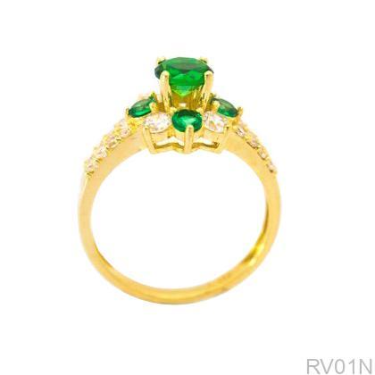 Nhẫn Nữ Vàng 18K Đính Đá CZ - RV01N