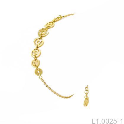 Lắc Tay Vàng 18k - L1.0025-1