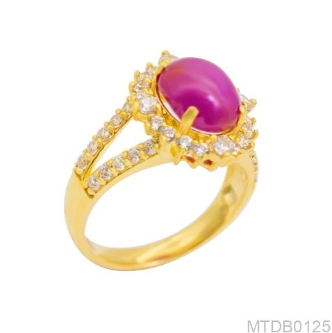 Nhẫn Kiểu Nữ APJ Vàng 18k - MTDB0125