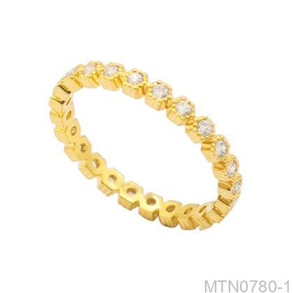 Nhẫn Kiểu Nữ APJ Vàng 18k - MTN0780-1