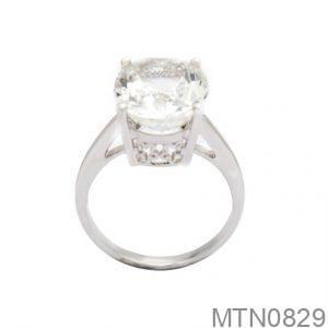 Nhẫn Kiểu Nữ APJ Vàng Trắng 10k - MTN0829