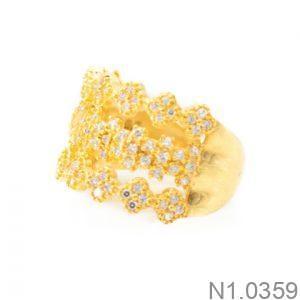 Nhẫn Kiểu Nữ APJ Vàng 18k - N1.0359