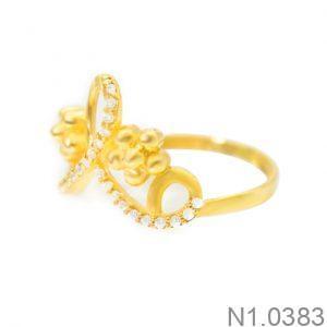 Nhẫn Nữ Vàng 18k Đính Đá CZ - N1.0383