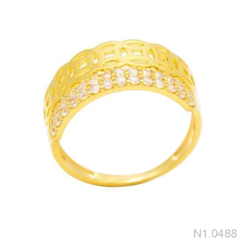 Nhẫn Kiểu Nữ Vàng 18k - N1.0488