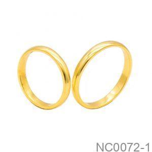 Nhẫn Cưới Vàng 18k - NC0072-1
