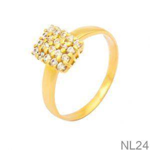 Nhẫn Nữ Vàng 18K Đính Đá CZ - NL24