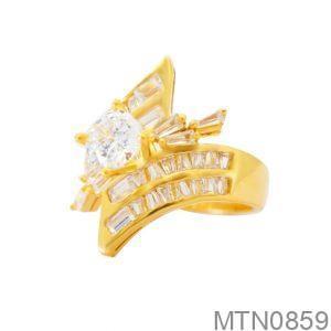 Nhẫn Kiểu Nữ APJ Vàng 18k - MTN0859