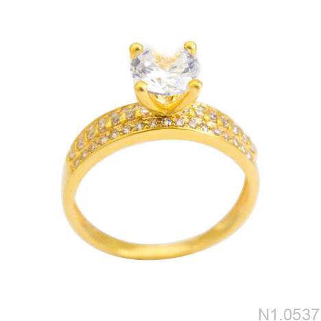 Nhẫn Kiểu Nữ Vàng 18K - N1.0537