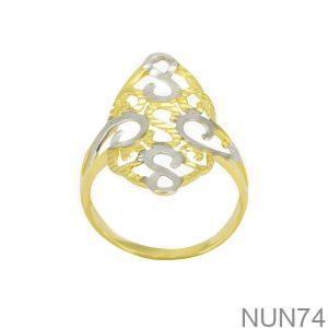Nhẫn Kiểu Nữ APJ Vàng 18k - NUN74