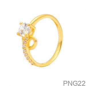 Nhẫn Nữ Vàng 18K Đính Đá CZ - PNG22
