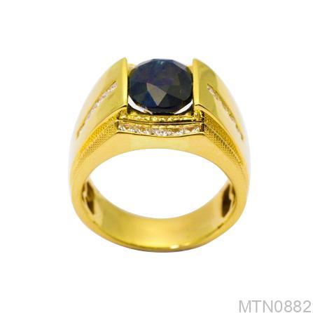 Nhẫn Nam Vàng Vàng 18k - MTN0882