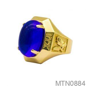 Nhẫn Nam Vàng Vàng 18k - MTN0884