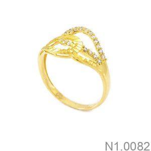 Nhẫn Kiểu Nữ APJ Vàng 18k - N1.0082