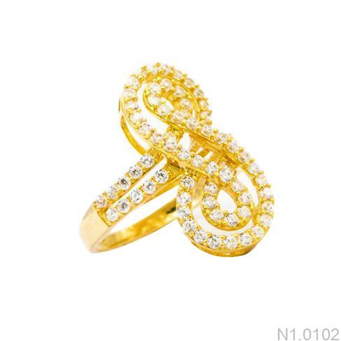 Nhẫn Kiểu Nữ Vàng 18k - N1.0102