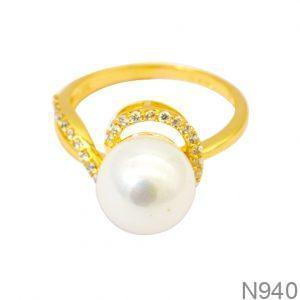 Nhẫn Nữ Vàng 18K Đính Đá CZ- N940
