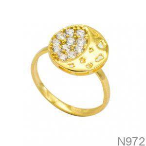 Nhẫn Nữ Vàng 18K Đính Đá CZ- N972