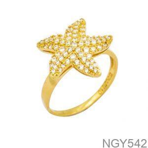 Nhẫn Nữ Vàng 18K Đính Đá CZ - NGY542