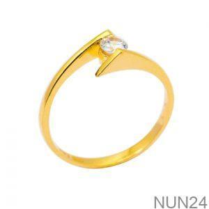 Nhẫn Nữ Vàng 18K Đính Đá CZ - NUN24