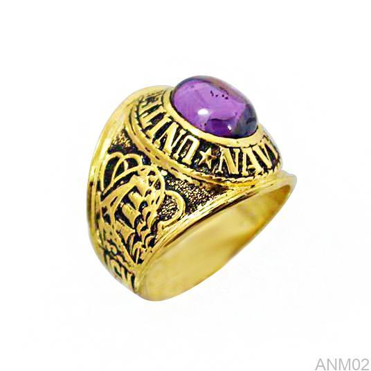 ANM02 Nhẫn vàng nam 10k kiểu Mỹ