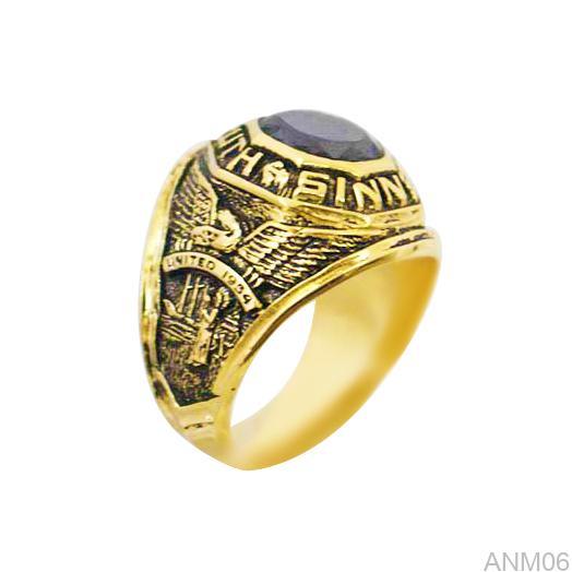 ANM06 Nhẫn vàng nam 10k kiểu Mỹ
