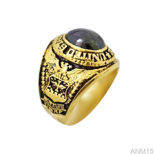 ANM15 Nhẫn vàng nam 10k kiểu Mỹ