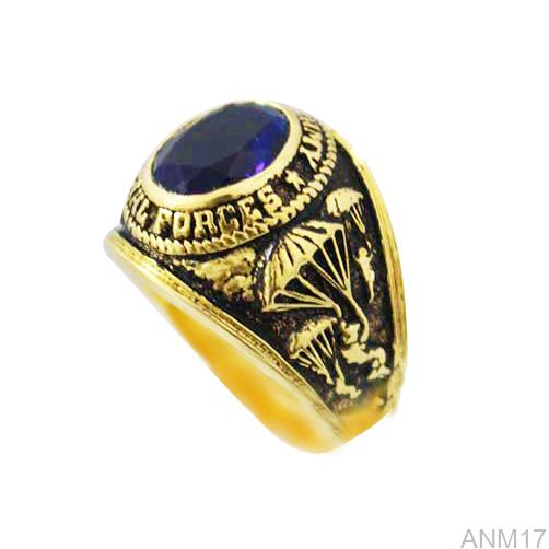 ANM17-1 Nhẫn vàng nam 10k kiểu Mỹ đẹp
