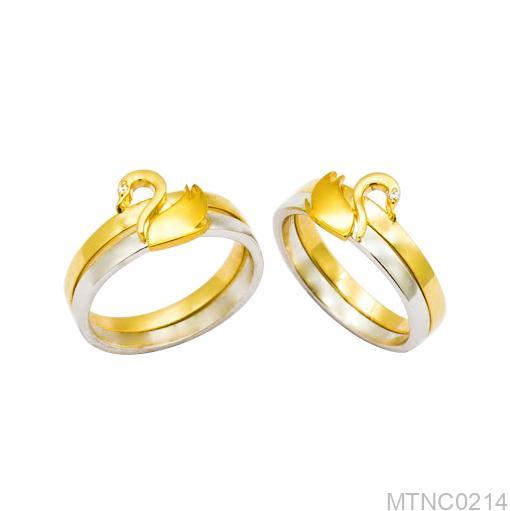 Nhẫn cưới thiên nga MTNC0214-1