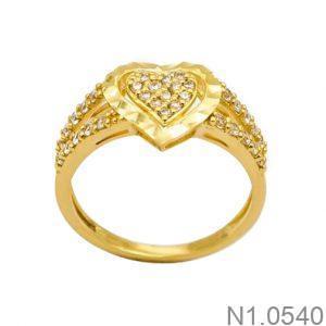 Nhẫn Kiểu Nữ Vàng 18k - N1.0540