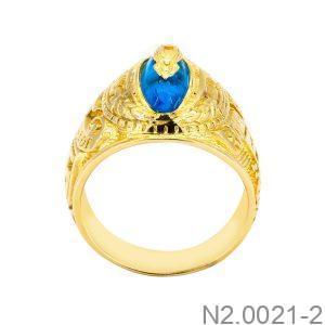 Nhẫn Nam Vàng Vàng 18K - N2.0021-2