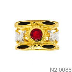 Nhẫn Kiểu Nam APJ Vàng 10k - N2.0086